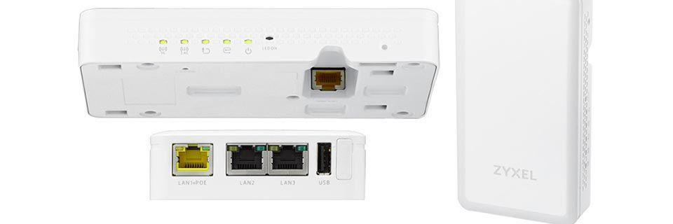 Das WAC5302D-S kann laut Hersteller Zyxel flexibel und unauffällig montiert werden.