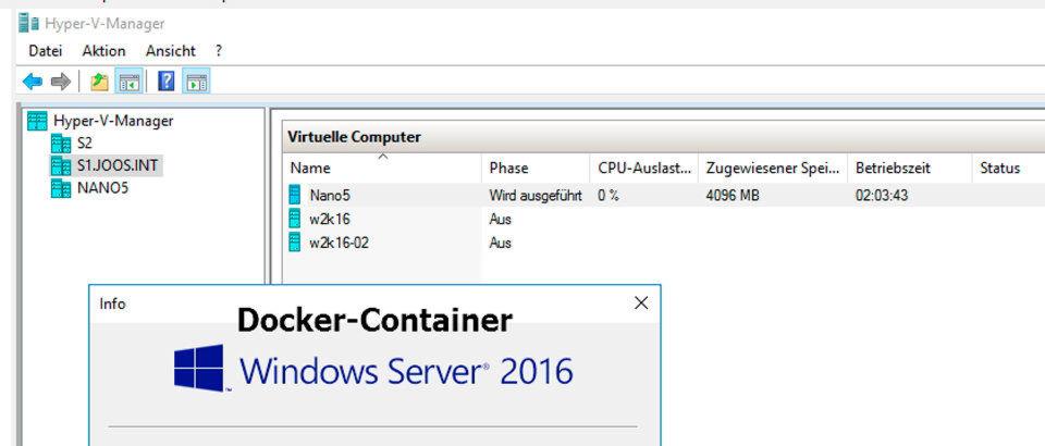 Docker-Container bieten unter Windows Server 2016 ganz besondere Vorteile und sind sehr einfach zu verwalten.
