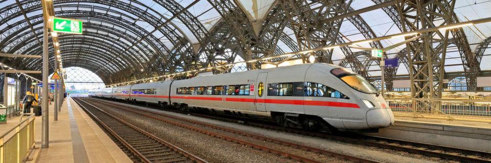 Bahnhöfe (hier: Dresden) sollen abgesichert werden