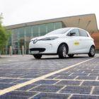 Frankreich testet Straßenbelag aus Solarzellen