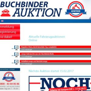Neue Website von Buchbinder Sale