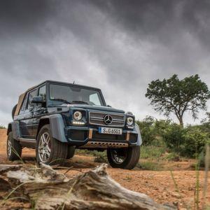 Gefahren: Mercedes-Maybach G 650 Landaulet