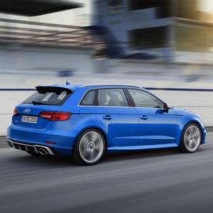 Audi RS 3: Volle Power nun auch für den Fünftürer