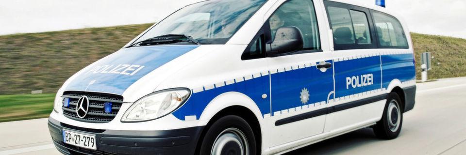 Streifenfahrzeug der Bundespolizei