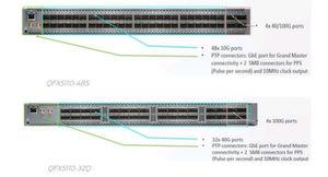 Das Bild oben zeigt das Gerät QFX5110-48S und das untere den Switch QFX5110-32Q von Juniper Networks.