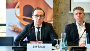 Bundesjustizminister Heiko Maas auf dem Safer Internet Day