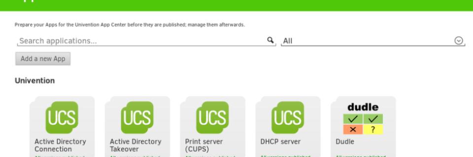 UCS 4.2 kommt mit Debian 8, LTS-Kernel 1.9 und überarbeitetem Portal (Thomas Drilling).