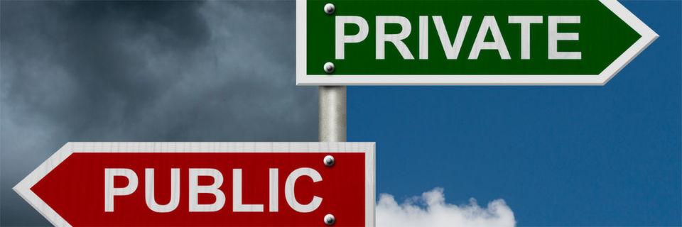Sensible Unternehmensdaten gehören nicht in die Public Cloud - mögliche Alternative: ein Private-Cloud-Modell.
