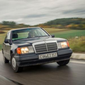 Kilometer-Millionär im Mercedes 124er