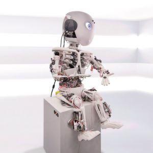 Ein humanoider Roboter aus dem 3D-Drucker