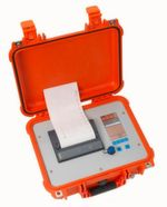 PMS3000 Druckprüfkoffer von UNION Instruments gemäß DVGW G469 (A) und W400-2, Teil 16
