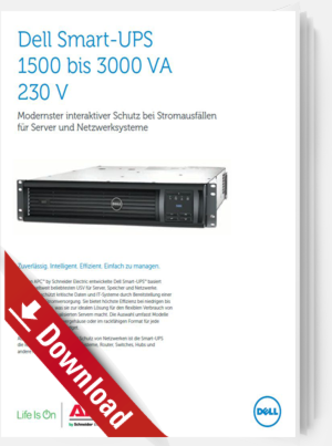 Dell Smart-UPS 1500 bis 3000 VA 230 V