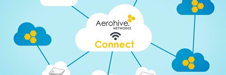 Aerohive Connect ist eine Cloud-Networking-Plattform für zentral gemanagte WLAN-Konnektivität.