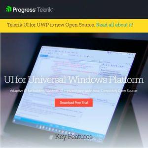 Telerik UI zur Windows-App-Entwicklung jetzt quelloffen
