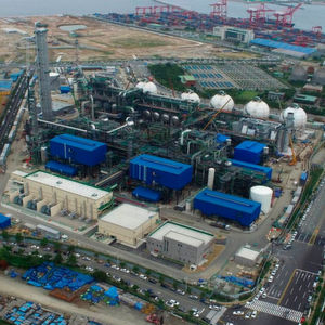 The propane dehydrogenation unit in China uses the Catofin catalyst (image: PDH unit in South Korea).