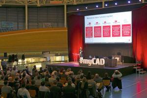 MyCADday a réuni la communauté romande des utilisateurs de produits Dassault Systèmes au Centre Mondial du Cyclisme d'Aigle.