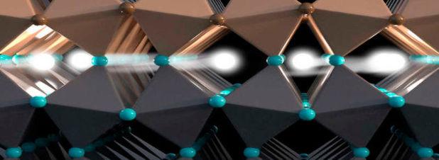 Spin-Elektronik: Diese Grenzschicht erlaubt den Transport von Information über den Drehimpuls von Elektronen.