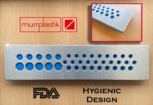 Zusammenarbeit: Die Firma Murrplastik AG produziert im Kabeldurchführungs- und Halterungsbereich Kabeldurchführungsplatten aus Metall, die mit Elastomeren zur Abdichtung kombiniert werden. Diese kommen ab sofort von Tec-Joint.