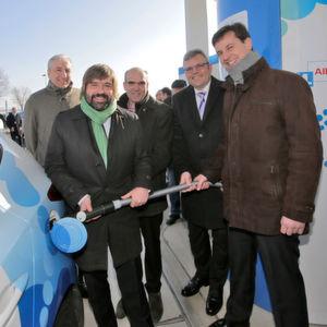 Neue Wasserstofftankstelle in Limburg