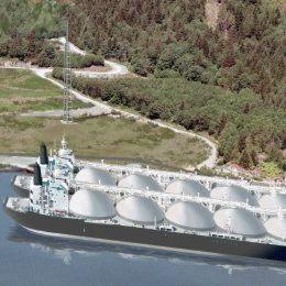 Woodfibre LNG is licenced to export about 2.1 million tonnes of LNG per year for 25 years.