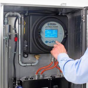 Verifizierung der Feuchte-in-Erdgas-Analyse mit Stickstoff