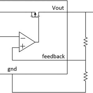 Stromversorgungsrauschen in Abhängigkeit von der Spannung