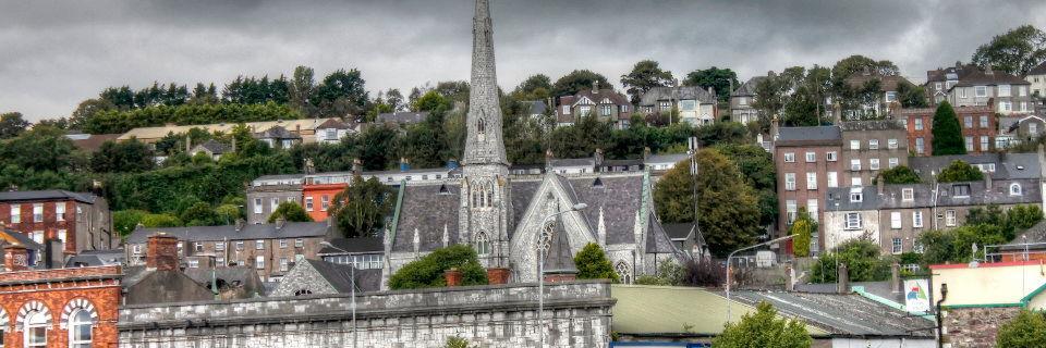 Stadtansicht von Cork, Irland