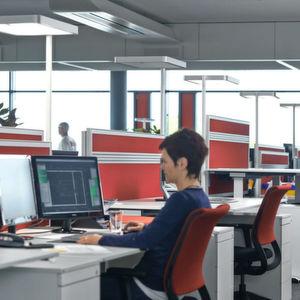 So sieht der ergonomische CAD-Arbeitsplatz aus