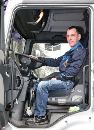 Gestatten: Falk R., Lkw-Fahrer mit Oberschenkelprothese