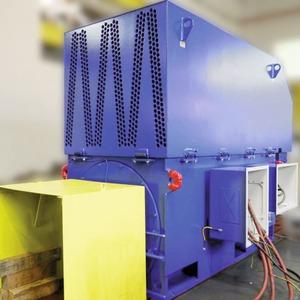Schleifringläufermotor inEx-Zone22 für Kohlemühlenantrieb