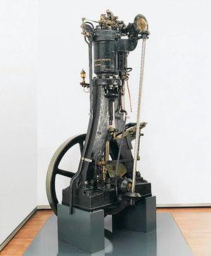 Der erste Dieselmotor, der unter eigener Kraft lief, entstanden in einer mehrteiligen Versuchsreihe in den Werken der Maschinenfabrik Augsburg-Nürnberg (heute MAN) zwischen 1893 und 1896.