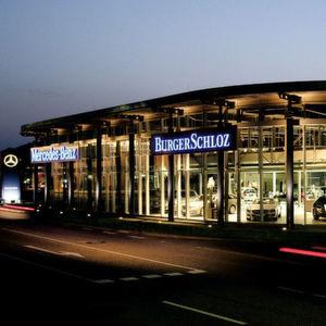 Die großen Autohändler: Burger-Schloz und Schloz-Wöllenstein