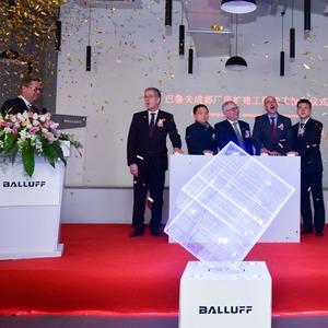 Balluff eröffnet Erweiterungsbau für das Werk im chinesischen Chengdu