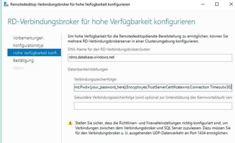 Remotedesktop-Server arbeiten in Windows Server 2016 auch mit ...