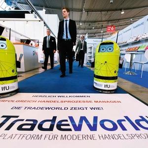 Die Tradeworld ergänzt die Logimat perfekt