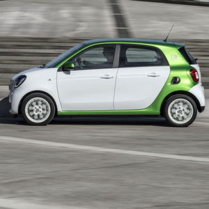 Smart Forfour Electric Drive: Kleinstfamilienstromer