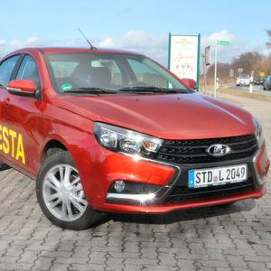 Lada Vesta: Robuste Technik in ansprechender Optik