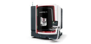 Die Lasertec 75 Shape ermöglicht anspruchsvolles Lasertexturieren auf kompakter Stellfläche.