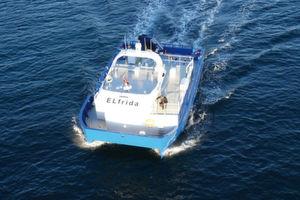 Erstes batterieelektrisches Arbeitsschiff für Fische in See gestochen