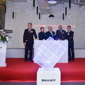 Balluff eröffnet Werkserweiterung in China