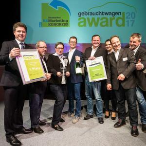 Gebrauchtwagen Award 2017: Professionell und vertriebsstark