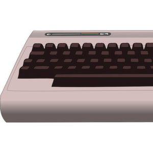 Vergoldeter Commodore C64