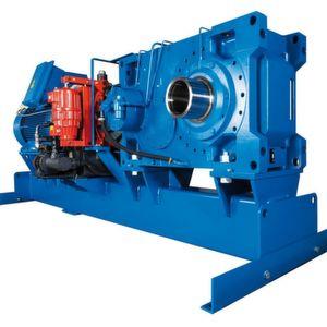In Phosphatgrube im Einsatz: größtes Industriegetriebe im Blockgehäuse