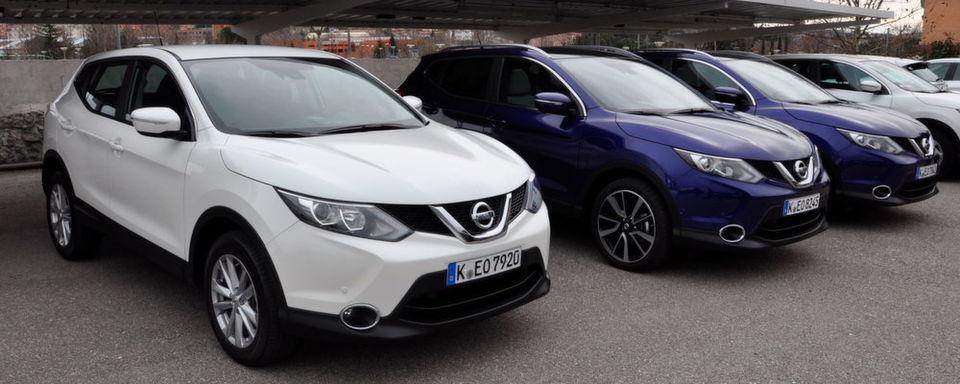 Eigenzulassungsanteil im Januar bei Nissan am höchsten