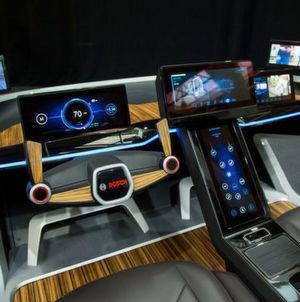 Bosch macht das Auto zur dritten Lebensumgebung