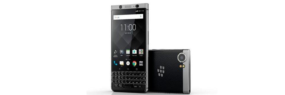 Blackberry-Smartphone mit physischer Tastatur