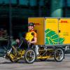 DHL testet Lastenfahrräder mit Containerboxen in Frankfurt und Utrecht