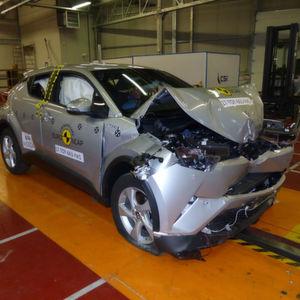 Euro-NCAP: Kleinstwagen können mit SUVs nicht mithalten