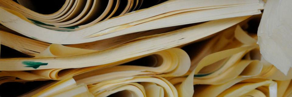 Wo etikettiert wird, fällt Unterlagenpapier an, oft in großen Mengen. Es lohnt sich, dieses wiederaufzubereiten.