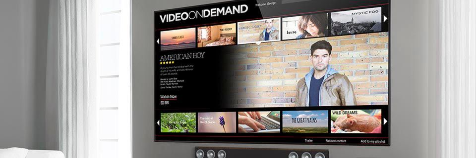 Trends wie Video-on-Demand steigern den Bandbreitenbedarf in den Privathaushalten.